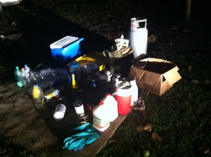 09-26 State Police Park County Drug Materials Confiscated  Pic 1 provided by ISP