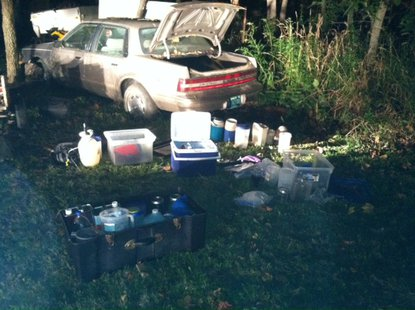 09-26 State Police Park County Drug Materials Confiscated  Pic 2 provided by ISP