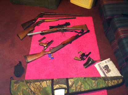 09-26 State Police Park County Drug Guns Confiscated  Pic 3 provided by ISP