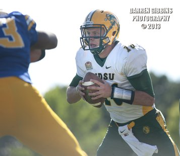 Brock Jensen sneaks in for first points for NDSU