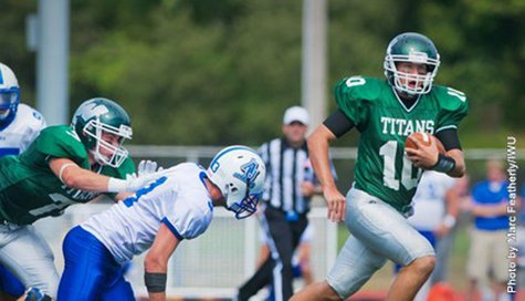 Illnois Wesleyan QB Rob Gallik (photo courtesy Illinois Wesleyan University)
