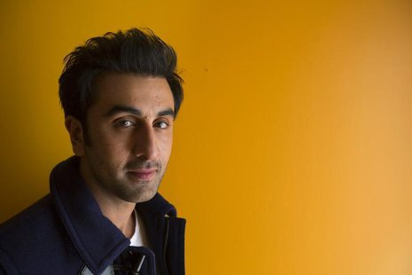 Bollywood actor Ranbir Kapoor poses for a portrait while doing interviews regarding his new film Besharam in New York, September 23, 2013. R
