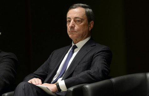 European Central Bank Governor Mario Draghi attends a conference at the Bocconi University in Milan September 27, 2013. REUTERS/Stringer
