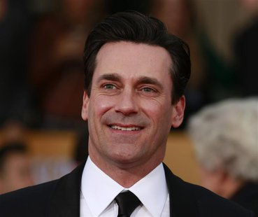 "Actor Jon Hamm of the TV drama ""Mad Men"" arrives at the 19th annual Screen Actors Guild Awards in Los Angeles, California January 27, 2013."