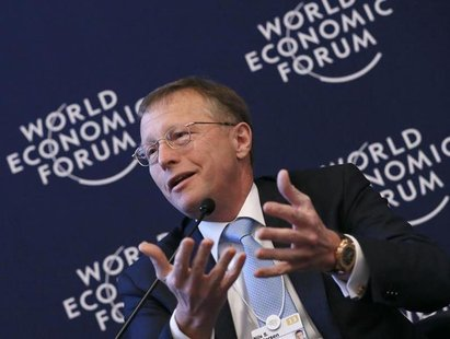 Nils Smedegaard Andersen Group Chief Executive Officer of A.P. Moller-Maersk attends the annual meeting of the World Economic Forum (WEF) in