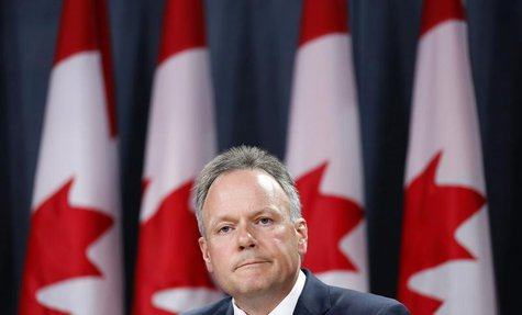 Bank of Canada Governor Stephen Poloz takes part in a news conference upon the release of the Monetary Policy Report in Ottawa July 17, 2013