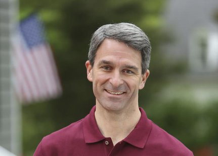 Ken Cuccinelli is seen in this undated file photo, courtesy of the Cuccinelli Campaign. Democrat Terry McAuliffe and Republican Cuccinelli,