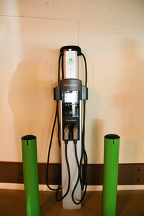 Holiday Inn and Suites Charging Station