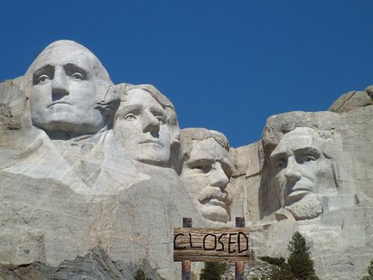 Gov. Dennis Daugaard has sent a letter to the director of the National Park Service offering state personnel and resources to keep Mount Rushmore open in the event of a federal government shutdown. (KELO AM)