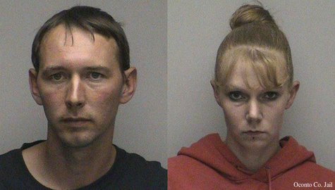 Shawn Paholke, left, and Jennifer Fendryk