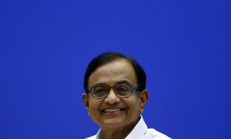 India's Finance Minister Palaniappan Chidambaram smiles during a news conference in New Delhi July 31, 2013. REUTERS/Adnan Abidi