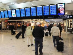 Minneapolis-St. Paul International Airport (Photo credit: CBS)