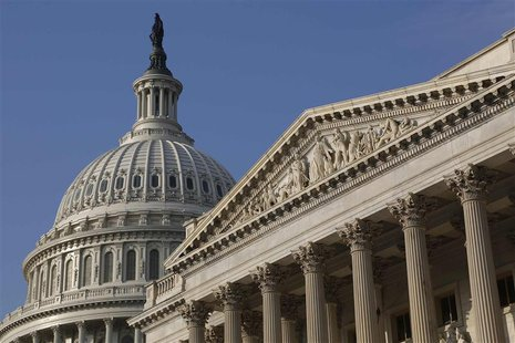 A general view of the U.S. Capitol Dome in Washington, October 4, 2013. REUTERS/Jonathan Ernst