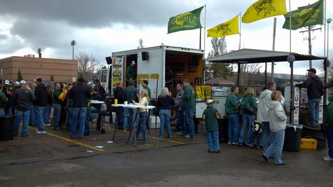 NDSU tailgating (KFGO file photo)