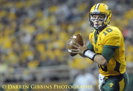 The NDSU Bison win big 24-23 over the University Of Northern Iowa Panthers