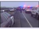 Hwy. 75 crash scene
