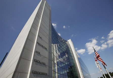 The headquarters of the U.S. Securities and Exchange Commission (SEC) are seen in Washington, July 6, 2009. REUTERS/Jim Bourg