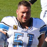 Detroit Lions center Dominic Raiola (Photo by: Wikipedia).