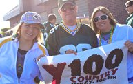 Win Over Detroit :: Y100 Tailgate Party at Brett Favre's Steakhouse 15