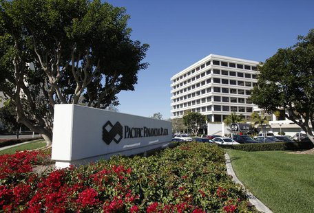 The headquarters of investment firm PIMCO is shown in this photo taken in Newport Beach, California in this January 26, 2012 file photo. REU