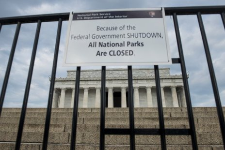 Government Shutdown--Washington
