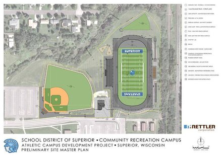 Proposed Superior Sports Complex