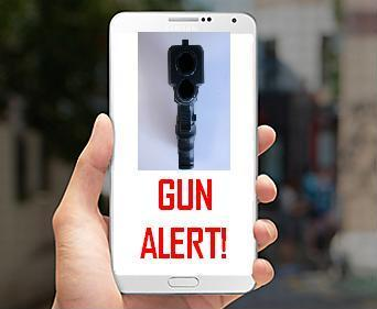 People so absorbed in their smart phones didn't notice man with gun. (KELO AM)