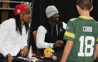 Tramon Williams & James Jones :: 1 on 1 with the Boys :: 10/10/13 26