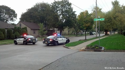 The Appleton Police Department responds to a standoff on Tuesday, October 15, 2013. (Photo by: FOX 11).