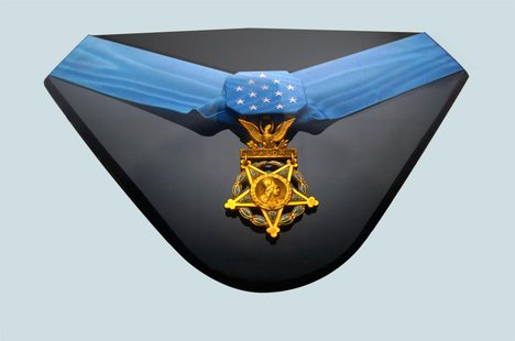 The Medal of Honor, the highest U.S. honor for valor. (Army.mil)