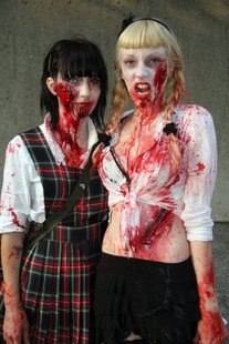 bloody teen zombies