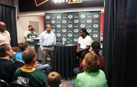 Eddie Lacy @ Verizon Wireless in Oshkosh With WIXX 4