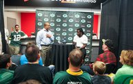 Eddie Lacy @ Verizon Wireless in Oshkosh With WIXX 3