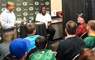 Eddie Lacy @ Verizon Wireless in Oshkosh With WIXX 7