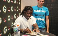 Eddie Lacy @ Verizon Wireless in Oshkosh With WIXX 29