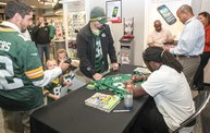 Eddie Lacy @ Verizon Wireless in Oshkosh With WIXX 24