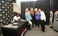 Eddie Lacy @ Verizon Wireless in Oshkosh With WIXX 14