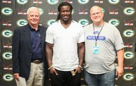Eddie Lacy @ Verizon Wireless in Oshkosh With WIXX 8