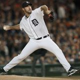 Detroit Tigers starting pitcher Justin Verlander
