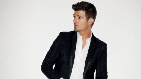 Image courtesy of Facebook.com/RobinThicke (via ABC News Radio)