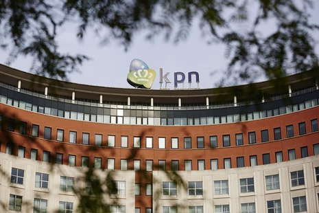The headquarters of the Dutch telecom company Royal KPN are seen in The Hague October 2, 2013.REUTERS/Phil Nijhuis