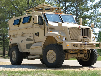 MRAP: Mine Resistant Ambush Protected Vehicle (file photo)