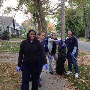 Kalamazoo Public Safety's COPS division worked with the community to clean up area neighborhoods.
