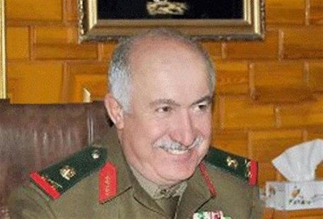 An undated handout photograph distributed by Syria's national news agency SANA shows top-ranking general in Syrian military intelligence, Ge