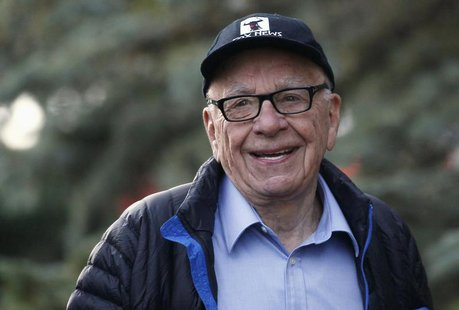 Rupert Murdoch, News Corp. and 21st Century Fox CEO, arrives at the annual Allen and Co. conference at the Sun Valley, Idaho Resort July 12,