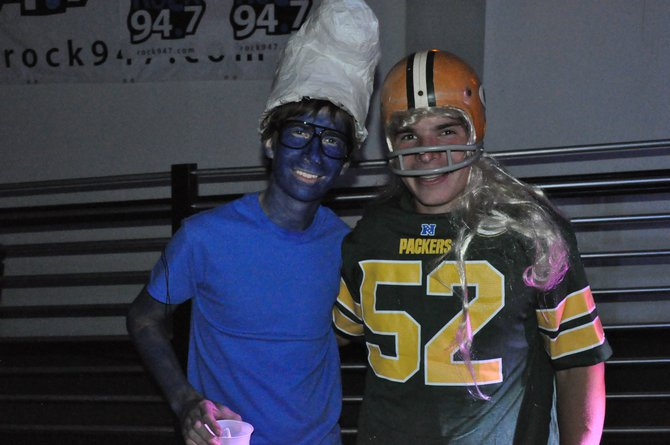 A Smurf and Clay