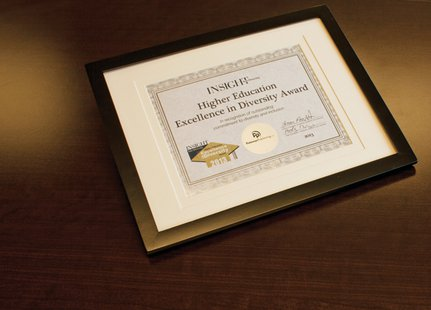 The HEED Award or Higher Education Excellence in Diversity  (HEED) Award.