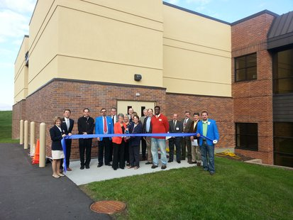 A ribbon cutting ceremony was held recognizing the recent expansion at Lake Country Academy.
