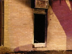 Valley City church fire  Photo courtesy NewsDakota