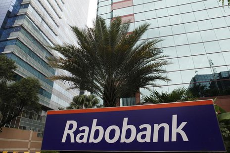 A view shows the Rabobank headquarters in Jakarta January 15, 2013. REUTERS/Beawiharta
